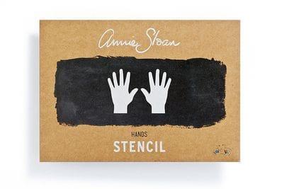 A4 Hands Stencil