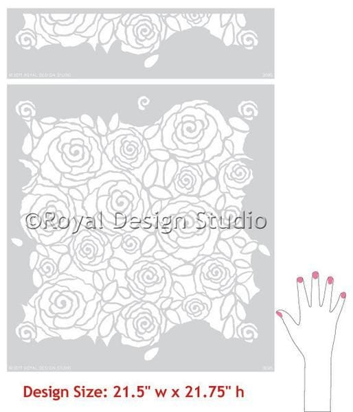 Thumbnail Rockin Roses Damask
