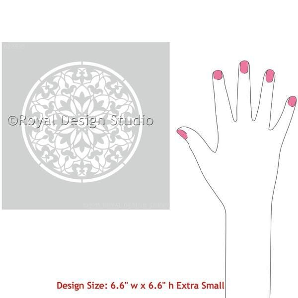 Thumbnail Amira Ornament Craft Stencil