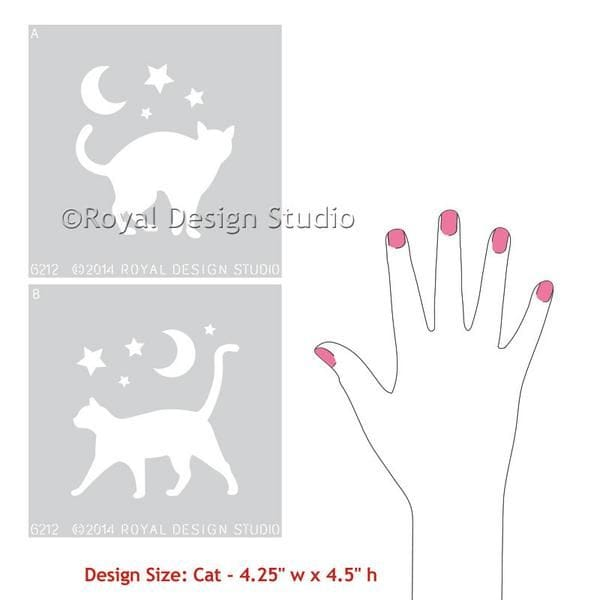 Thumbnail Stray Cat Stencil