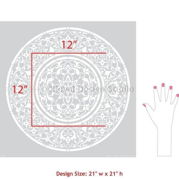 Thumbnail Mandala Medallion Stencil