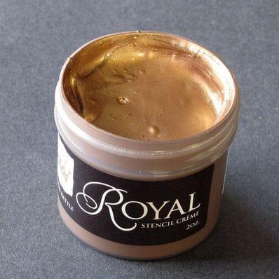 Copper Kettle Stencil Creme
