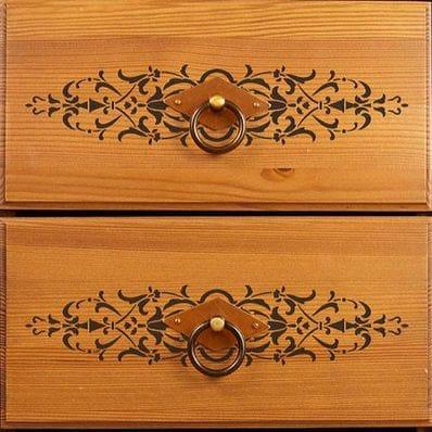 Micah Classic Panel & Furniture Stencil