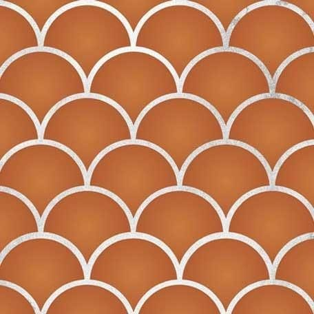 Thumbnail Moroccan Scallops Furniture Stencil