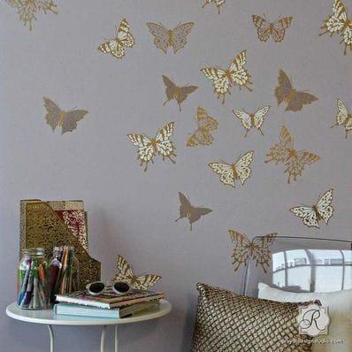 Papillon Butterfly Stencil Set