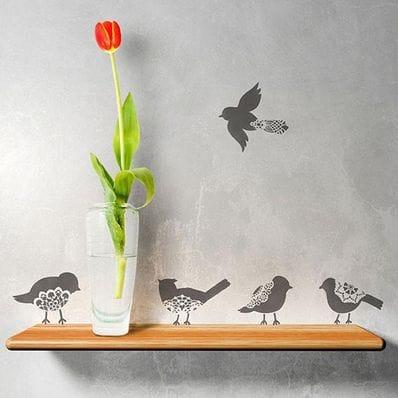 Sweet Tweets Lace Bird Set B