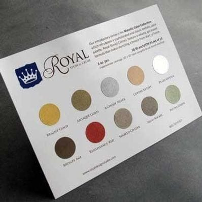FREE - Royal Stencil Cremes Color Chart