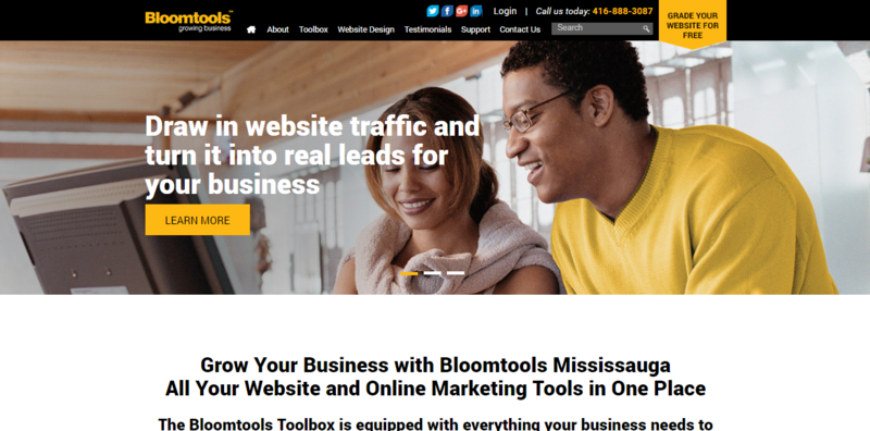 Bloomtools Mississauga launches its new website!