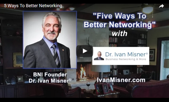The Top Five Characteristics of a Great Networker