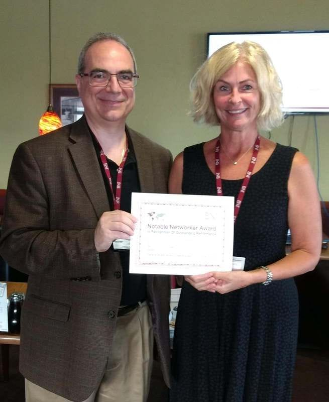 Notable Networker Award - July