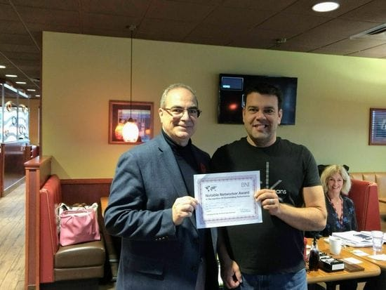 Notable Networker Award - October