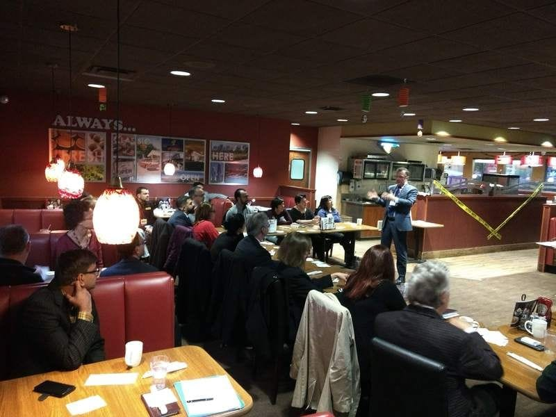 12 Visitors Attend Grow Your Business Event