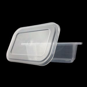 125ml Rectangular Single Serve Tub