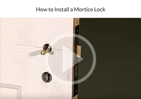 How to Install a Mortice Lock