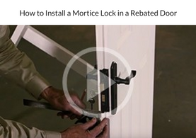 How to Install a Mortice Lock in a Rebated Door