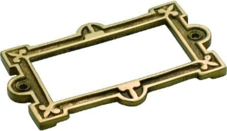 Card Holder Polished Brass3815
