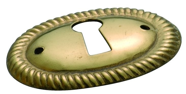 Escutcheon Polished Brass3817