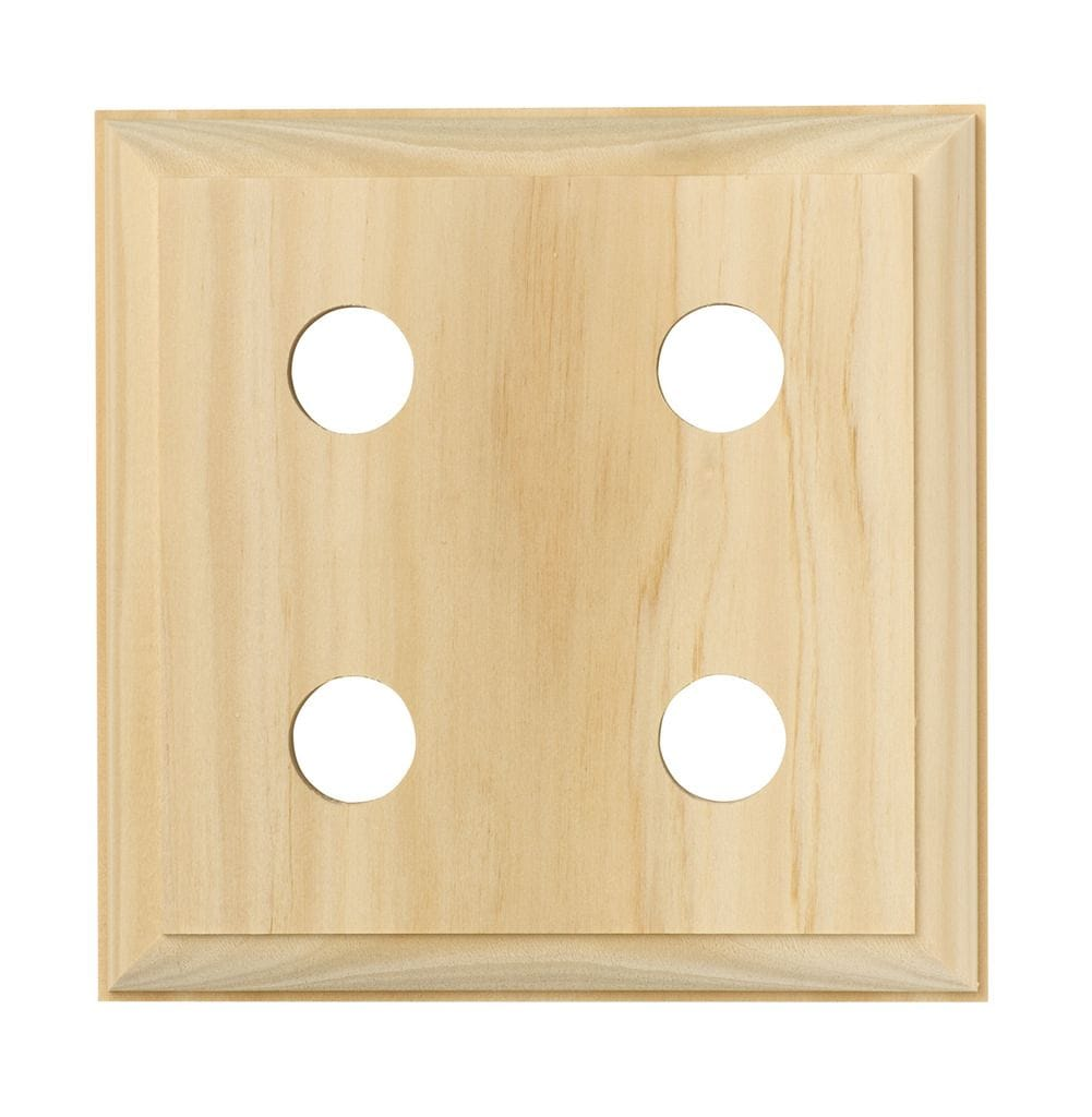 Quad Block - Traditional Pine5445