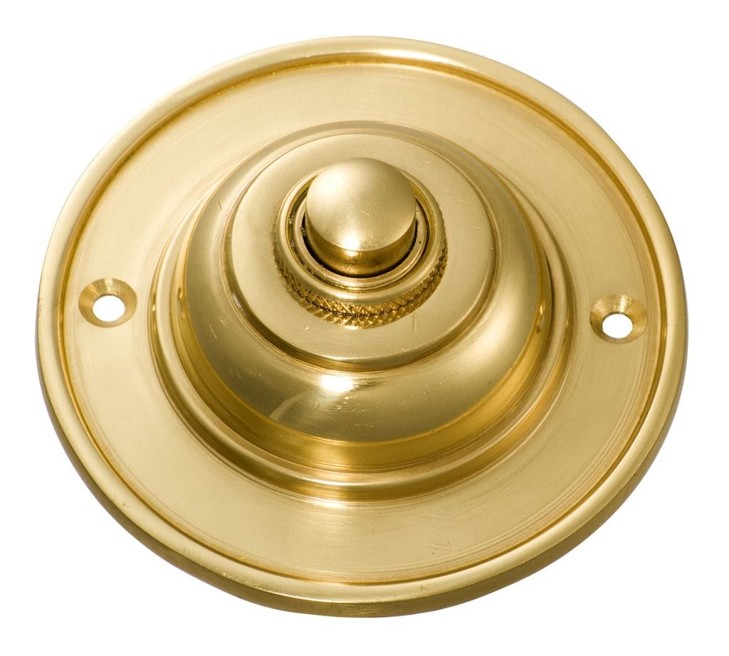 Bell Push Polished Brass5500