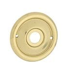 Backplate (Pair) Polished Brass1027