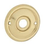 Backplate (Pair) Polished Brass1029