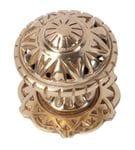 Centre Door Knob Polished Brass1307