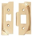 Rebate Kit for Standard Tube Latch Polished Brass