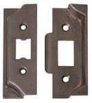 Rebate Kit for Standard Tube Latch Antique Brass