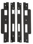 Rebate Kit LH & RH to suit Std and Roller Lock Matt Black2199