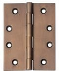 Hinge - Fixed Pin Antique Brass 100mm x 75mm