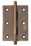 Hinge - Loose Pin Antique Brass 85mm x 60mm