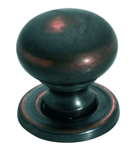Cupboard Knob Antique Copper3654