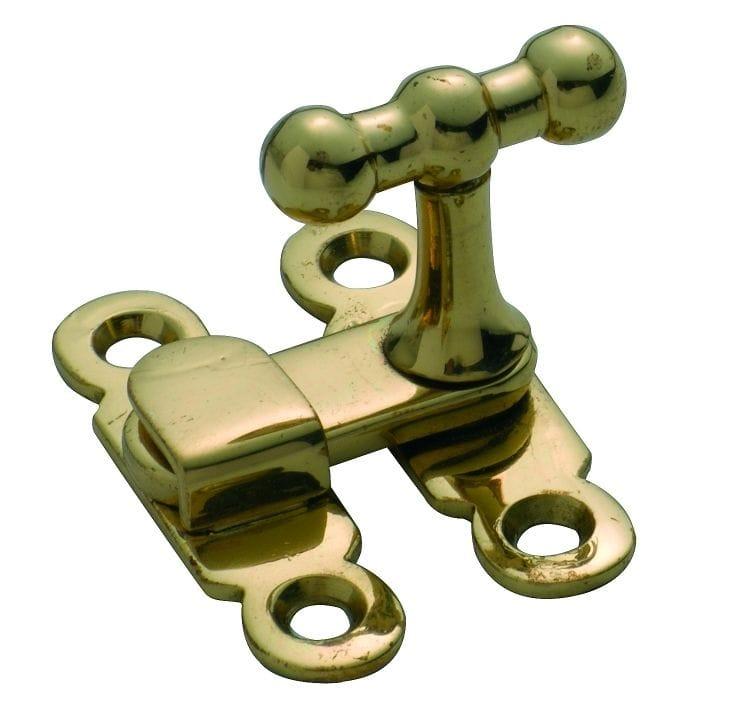 Cupboard Turn Polished Brass3802