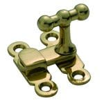 Cupboard Turn Polished Brass