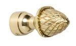 Acorn Finial Polished Brass4612