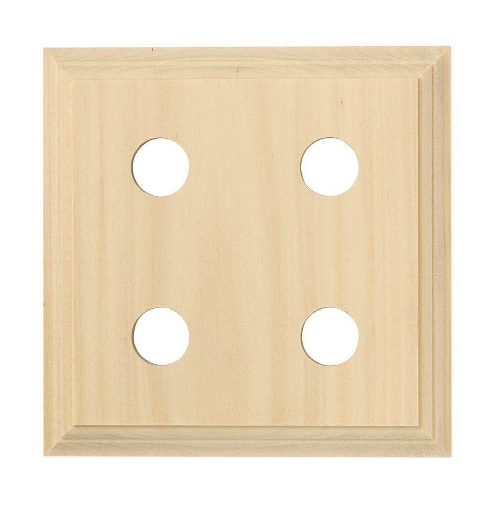 Quad Block - Classic Pine5425