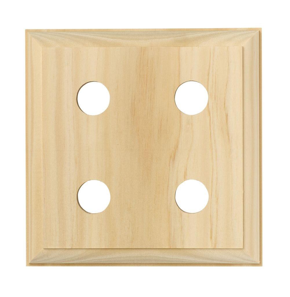 Quad Block - Traditional Pine5445