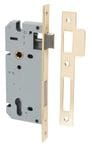 85mm Euro Lock Backset 45mm Polished Brass
