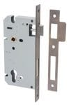 85mm Euro Lock Backset 60mm Antique Brass0126