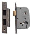 Euro Lock Rumbled Nickel Backset 46mm0259