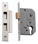 Euro Lock Polished Nickel 46mm0267