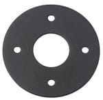 Adaptor Plate - Suits 54mm Hole (Sold As A Pair) Matt Black0895