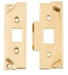 Rebate Kit to suit Split Cam Tube Latch Polished Brass