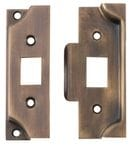 Rebate Kit to suit Split Cam Tube Latch Antique Brass