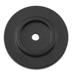 Backplate Matt Black 25mm1129
