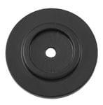 Backplate Matt Black 32mm1130