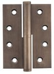 Hinge - Right Hand Lift Off Antique Brass 100mm x 75mm2395