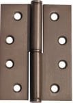 Hinge - Left Hand Lift Off Antique Brass 100mm x 75mm2396