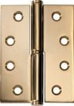 Hinge - Right Hand Lift Off Polished Brass 100mm x 75mm2495