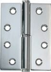 Hinge - Right Hand Lift Off Chrome 100mm x 75mm2695
